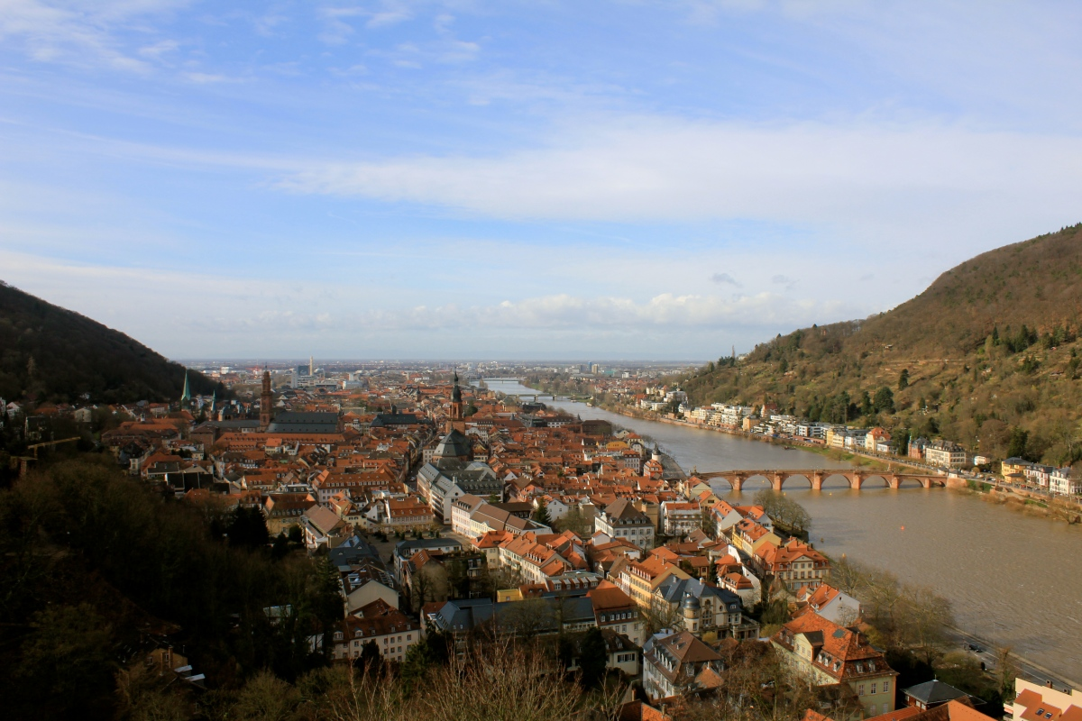 how to go to heidelberg from frankfurt