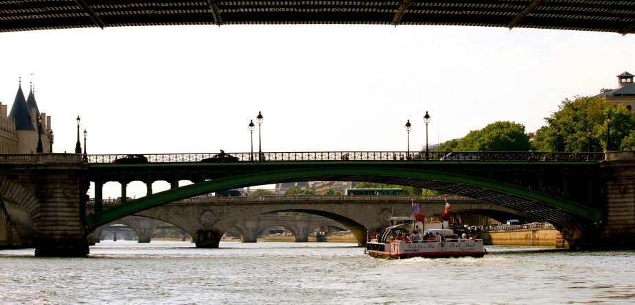The Seine River is wider than I thought, and an excellent way to see Paris.