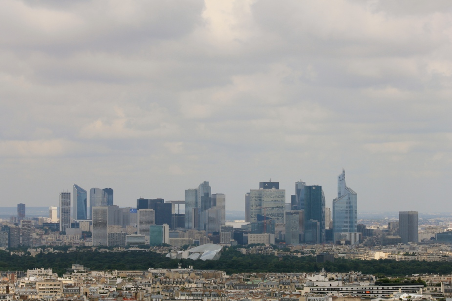 It is easy to forget that Paris has a downtown modern-day skyline because it is separated from the tourist areas.