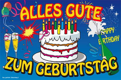 how to say happy birthday song in german