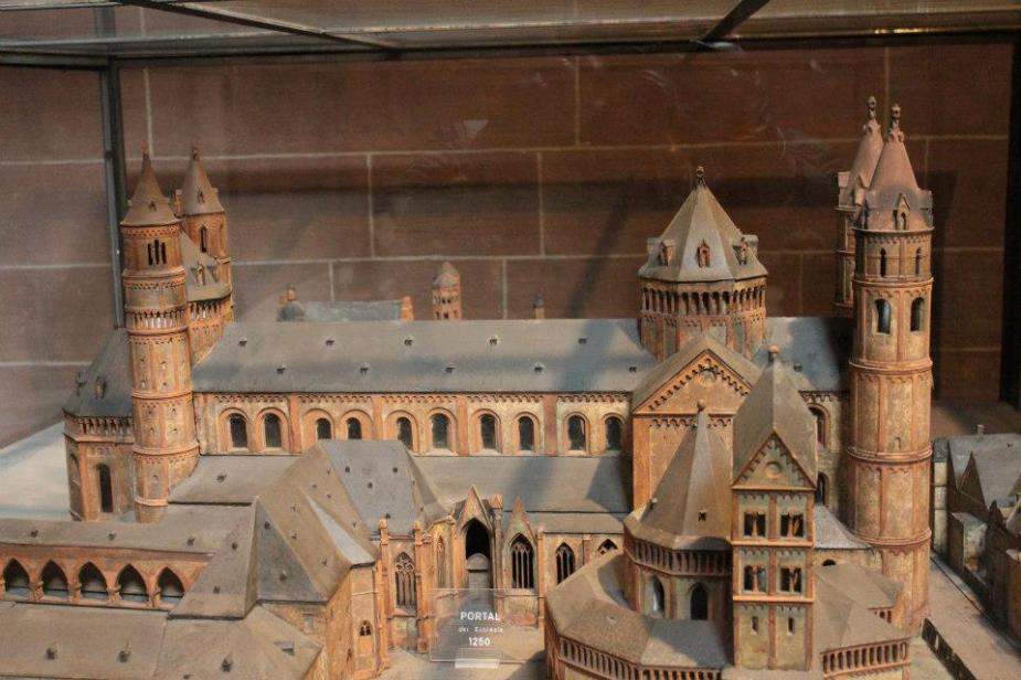 Model of the St. Peters Cathedral