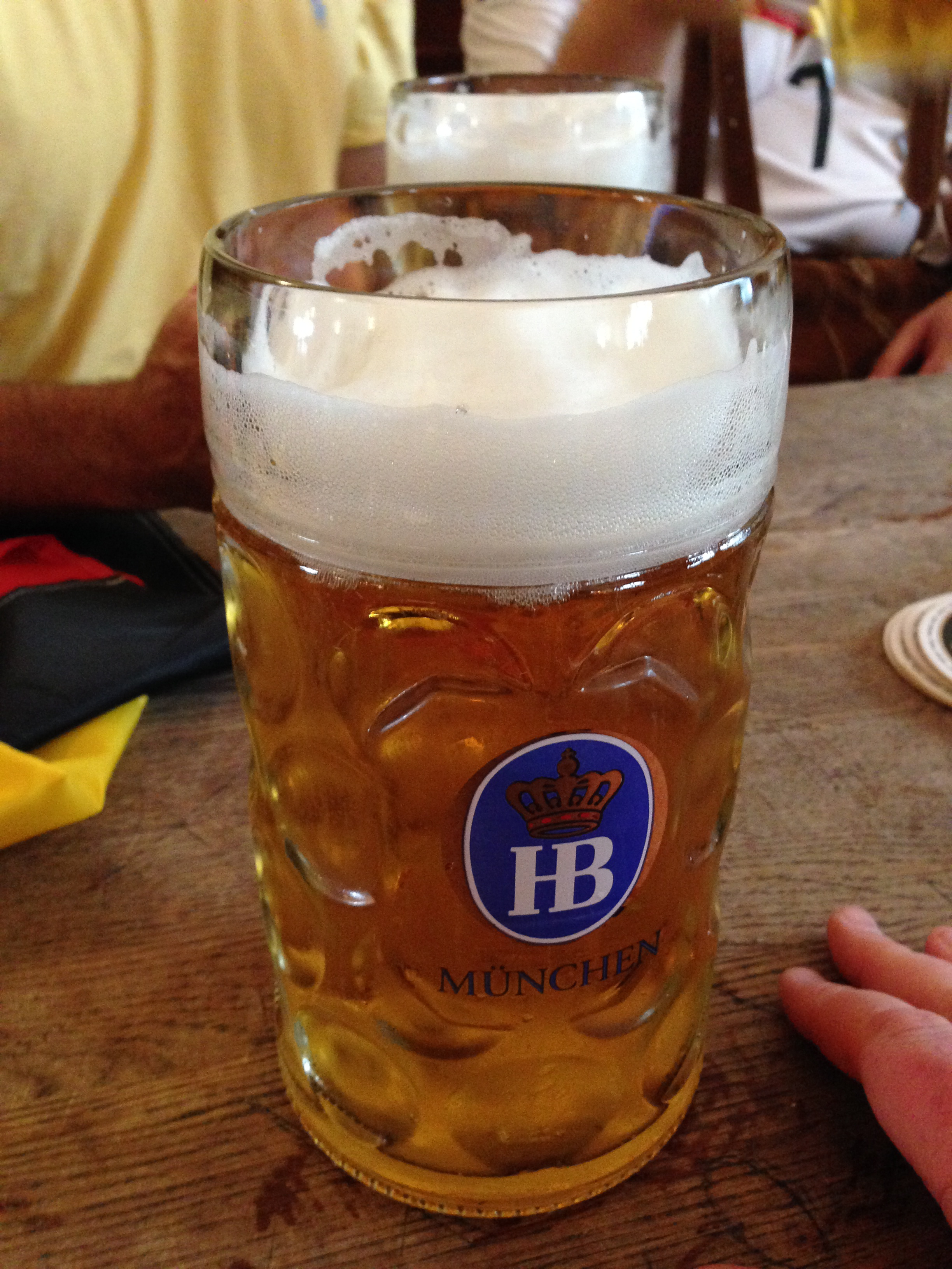 comparing the drinking age and alcohol laws between and liter of beer at the hofbräuhaus one of the oldest beer halls in munich built in 1589