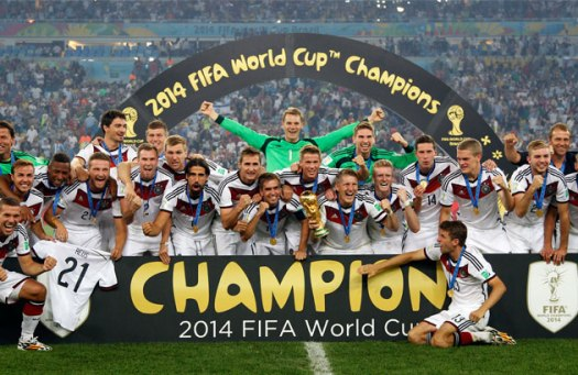 2014 FIFA World Cup Champions