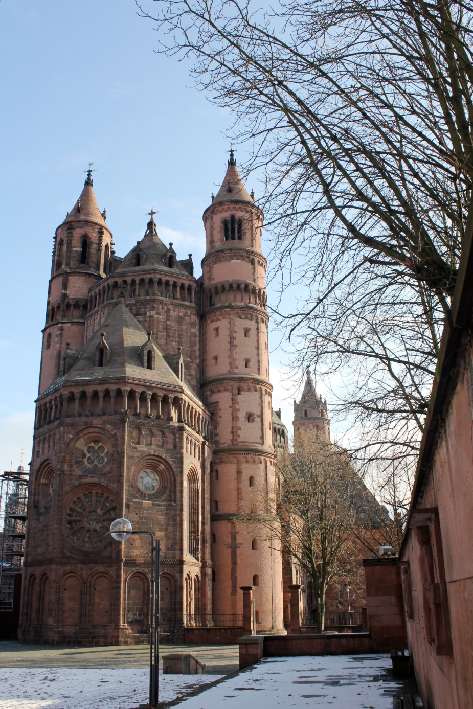 St Peters Cathedral in Worms, Germany