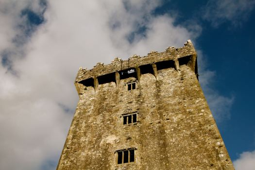 "The ""Blarney Stone"" is at the opening at the top of the castle. When I kissed the stone, I had no clue how open that hole really was!"
