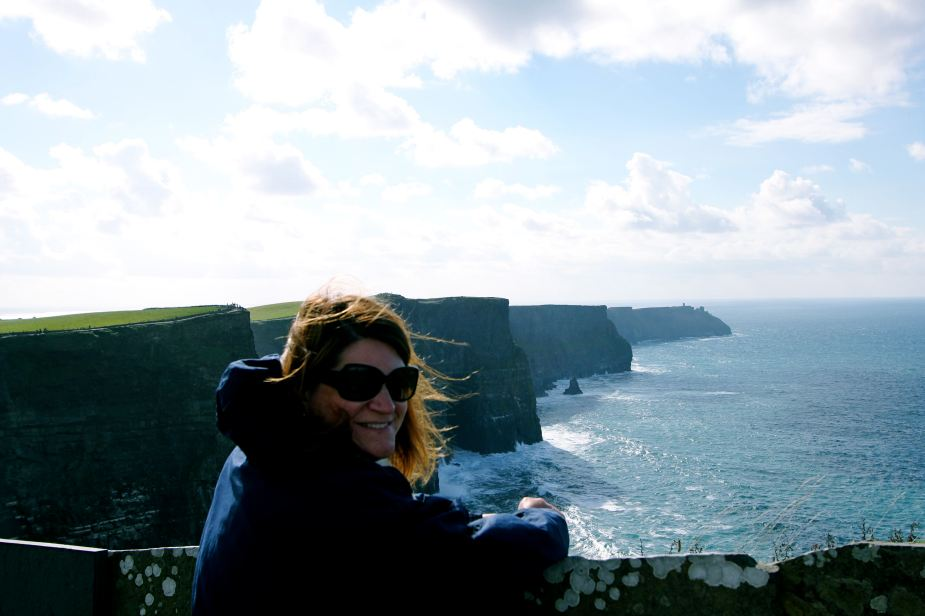 The cliffs are the highest in Ireland at a maximum height of 700 feet.