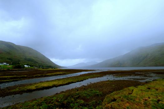 This is the largest fjord in Ireland.  A Fjord is a region of land where the Ocean goes into the land through a valley created by glaciers during the ice age. While the Fjords we saw in Norway were absolutely amazing, this one is beautiful all the same.