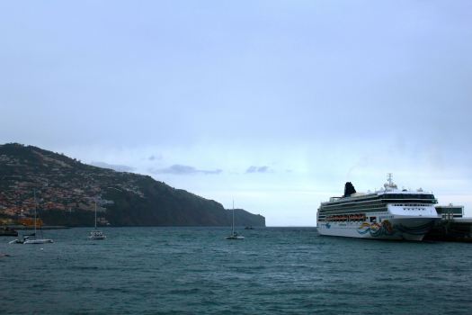 We say farewell to Madeira and Portugal....on to the Canary Islands