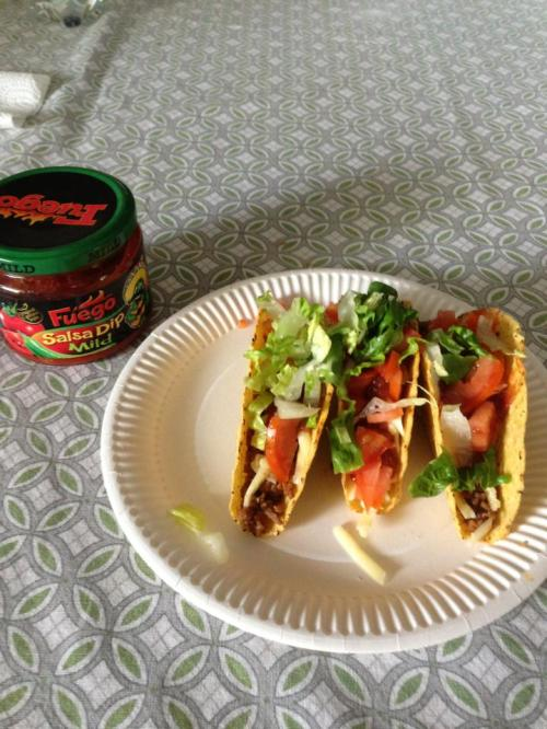 """While I have yet to find any fast food Mexican places, you can make your own tacos, as most of the larger grocery stores have an """"international"""" shelf, where you can buy taco seasonings."""