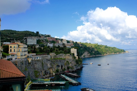...and this was the payoff for me getting lost in Sorrento...this view of the Mediterranean Sea.