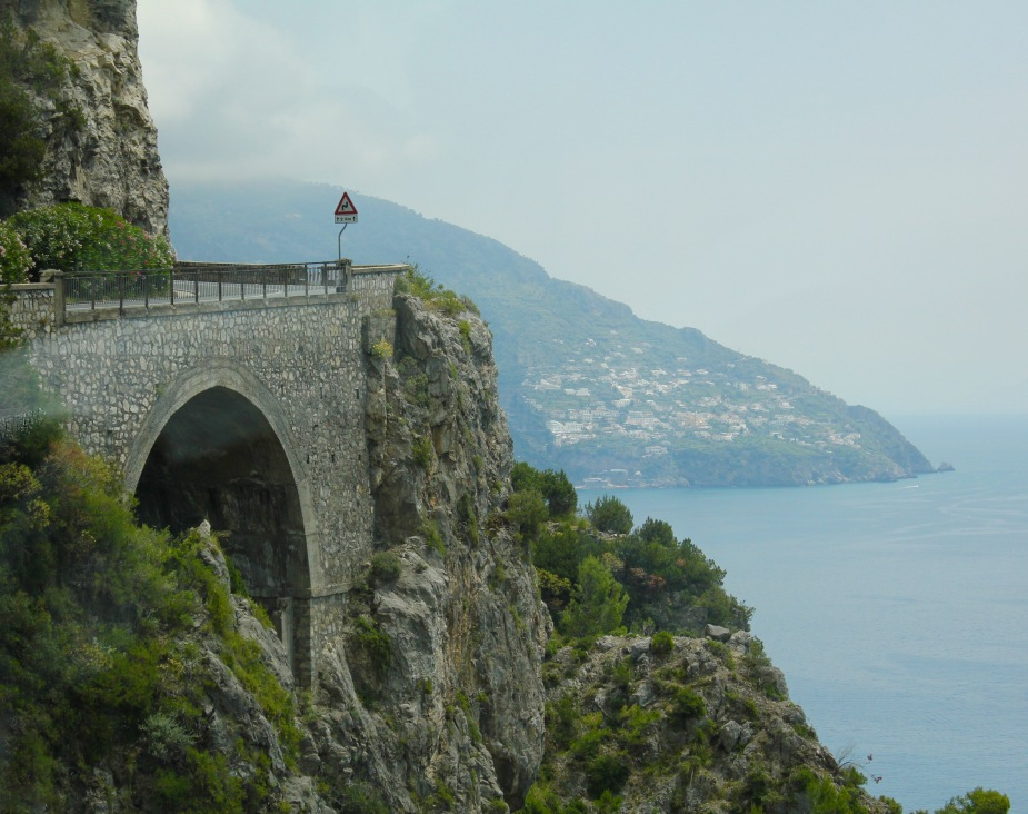 After lunch in Sorrento, we headed out on the drive along the coast to the seaside village of Amalfi.